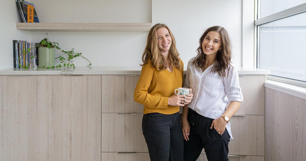 Ally and Kira, the Co-Founders of Akari Digital